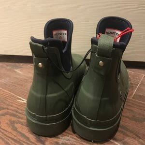 c36ef6bb3bb HUNTER for Target Olive Mens Ankle Rain Boots 12